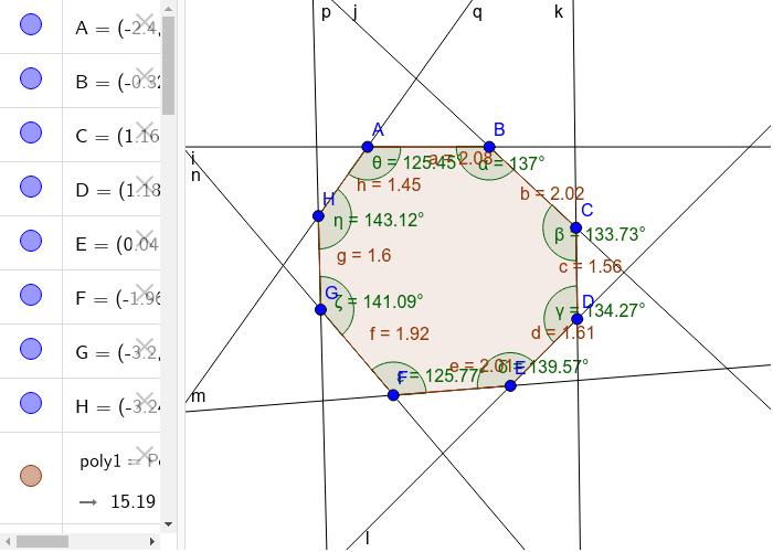 Shineequa´s Irregular Polygon