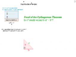 Rearrangement Proof of the Pythagorean Theorem