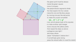 pythagorean theorem (a puzzle)