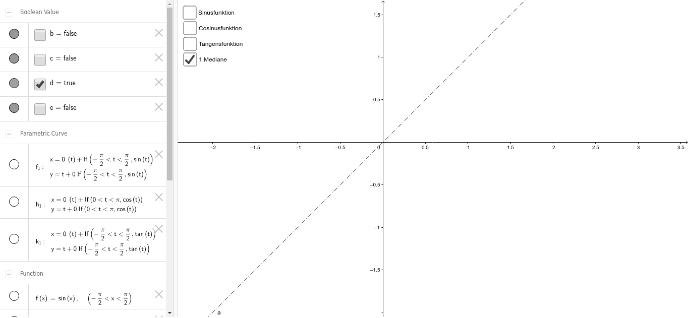 Winkelfunktionen Drücke die Eingabetaste um die Aktivität zu starten
