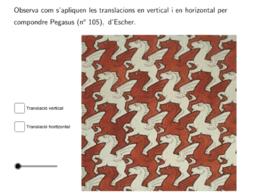 Translació en Escher