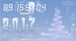 Countdown to the New 2018 Year