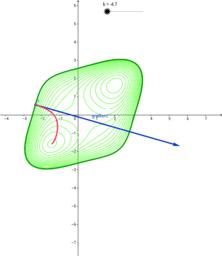 Gradient vector field
