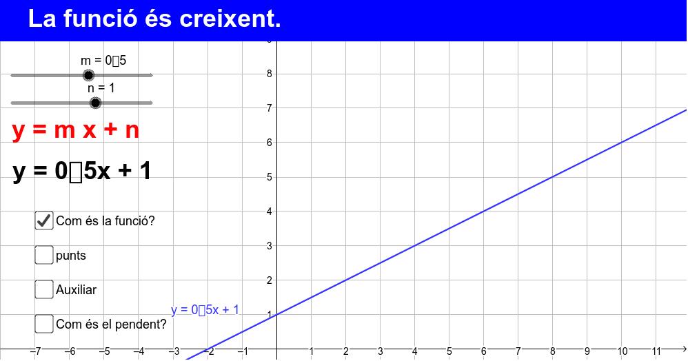RETCA: Creixent i decreixent.