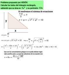 Ecuación de Herón