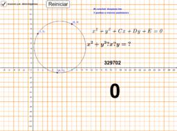 Circunferencia que pasa por 3 puntos(determinantes)