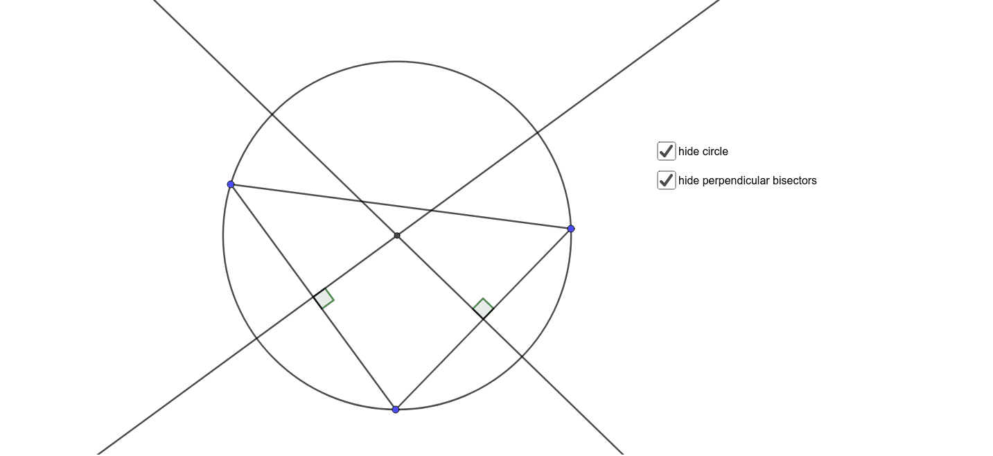 Drag the blue points, and see how the picture behaves. Press Enter to start activity