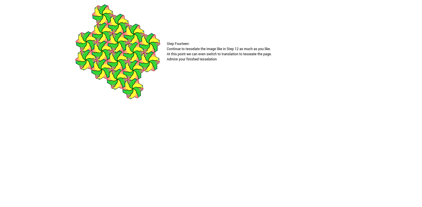 Rotation Tessellation Step 14