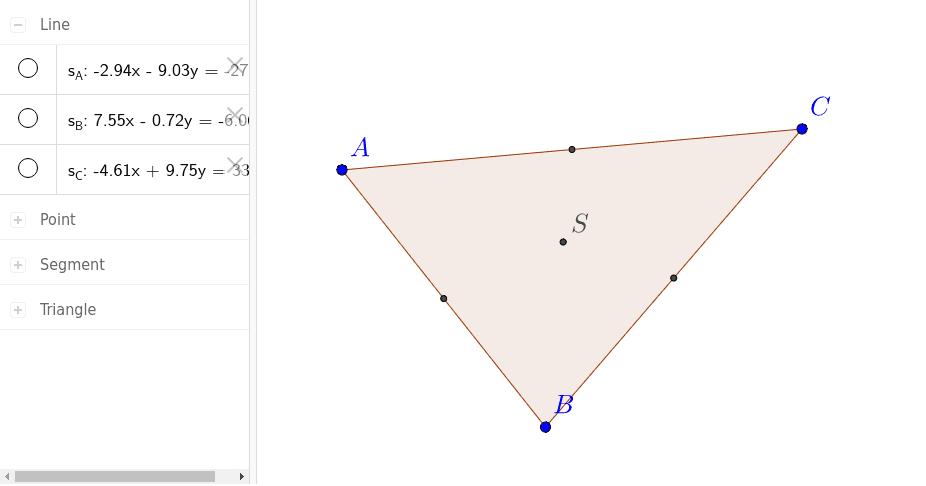 Wie konstruiert man den Punkt S?