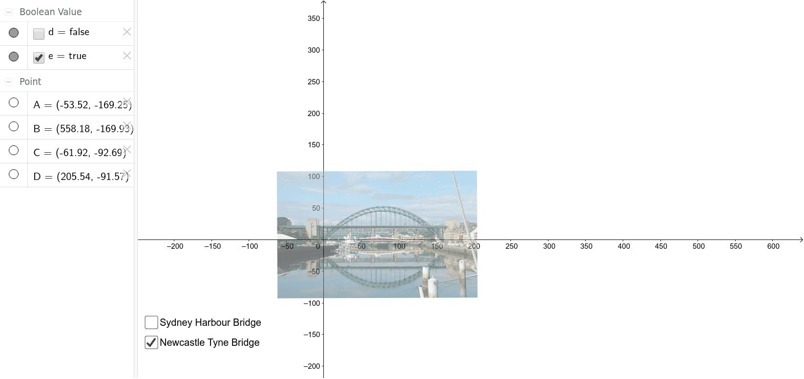 Modelling Bridge Curvature Press Enter to start activity