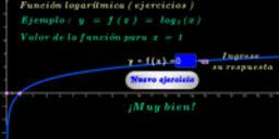 Función logarítmica base 3 ( ejercicios )