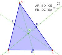 Teorema de Ceva