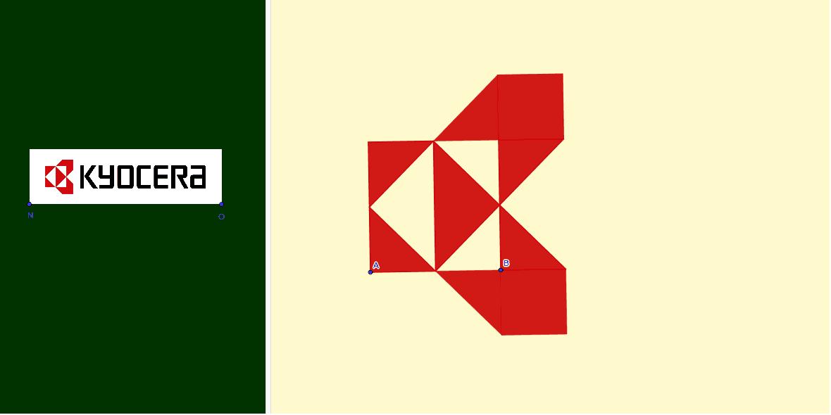 Redimensiona el logo de los puntos A y B