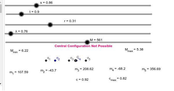Test Model for r > 0. Press Enter to start activity