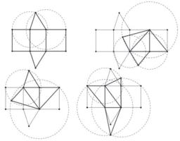 Dissecció d'un prisma en tres tetraedres d'igual volum