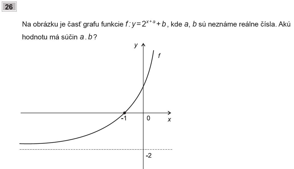 Maturita 2009, príklad č. 26