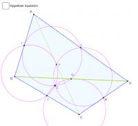 Centre d'Euler d'un quadrilatère