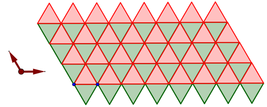 Equilateral Triangle  3.3.3.3.3.3  Tiling
