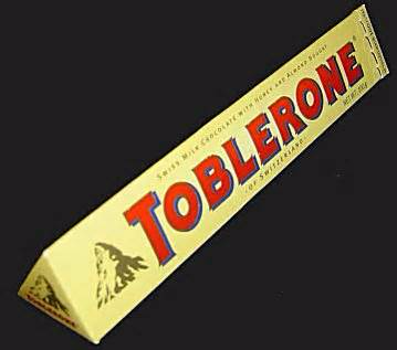 A Toblerone (use for question below)