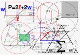 Relations métriques dans et autour du triangle