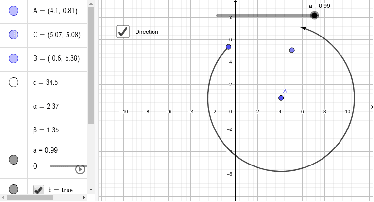 Creating Animated Arched Vectors with Directed Arc Press Enter to start activity