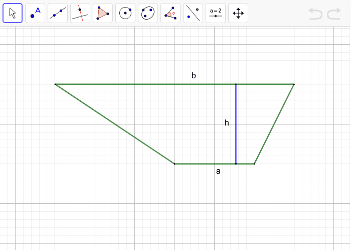 Challenge: Use the space below to show another approach to finding the area of the trapezoid. Press Enter to start activity
