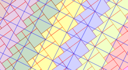 Pythagorean Theorem by Tessellation # 41 Tiling