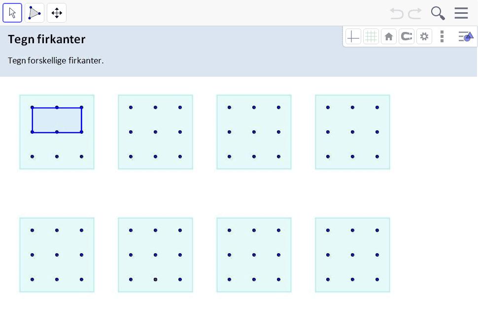 Tegn firkanter