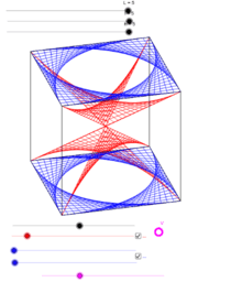 3D string parallelepiped