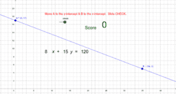 Graph Linear Equation in Standard Form Practice