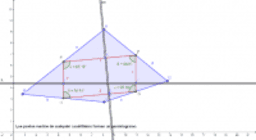 Los puntos medios de un cuadrilátero forman un paralelogramo