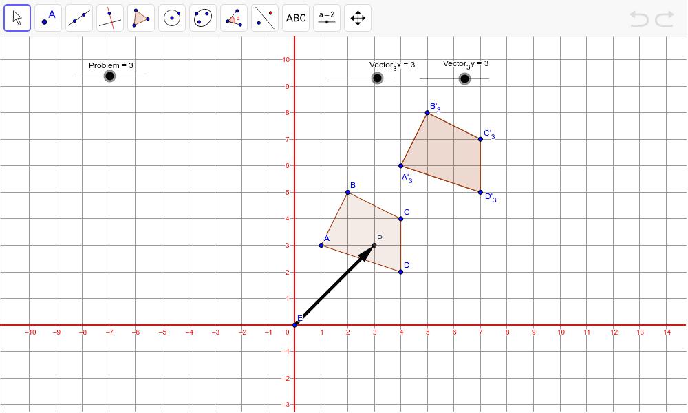 TASK 3 PROBLEM 3, VECTOR  (3,2.5) Press Enter to start activity