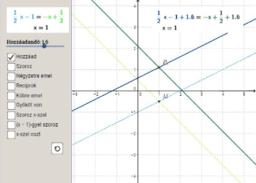 Egyenletek ekvivalens és nem ekvivalens átalakításai 1.