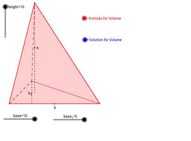 Ογκος τριγωνικής πυραμίδας