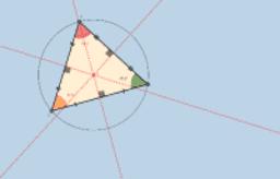 مركز الدائرة الخارجية