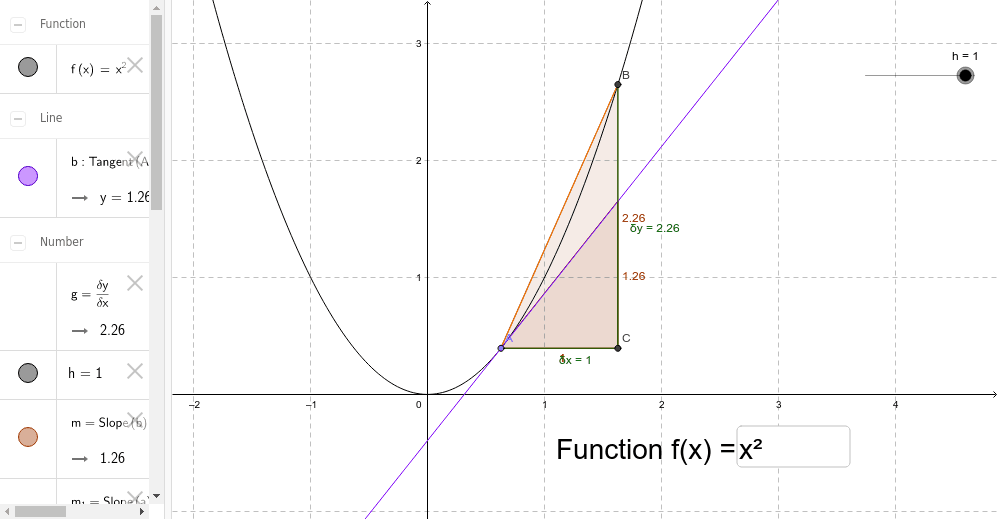 Finished Geogebra file - example 2
