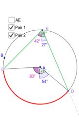 sudut keliling dan sudut pusat lingkaran