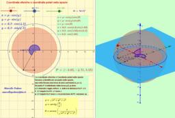 Coordinate sferiche (polari) nello spazio
