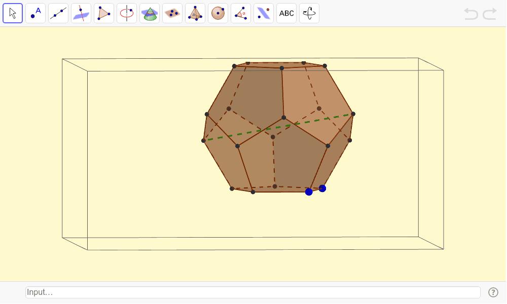 Dodecaedro Presiona Intro para comezar a actividade
