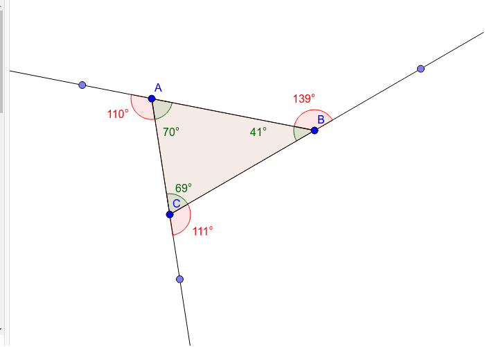 Triangle - 3 sides