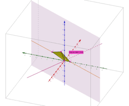 Geometría 3D para 2º Bach Ciencias Naturales