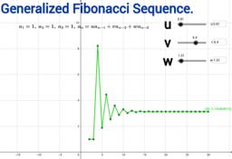 Generalized Fibonacci Sequence.