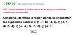 T1 (Parte 3) Identifica el cuadrante mediante sus coordenadas
