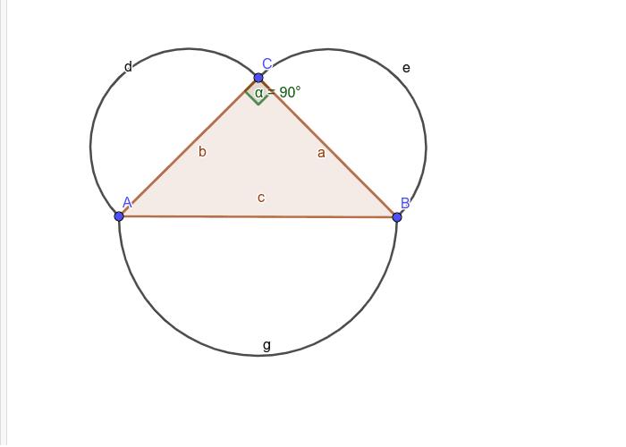 직각삼각형과 반원의 관계 활동을 시작하려면 엔터키를 누르세요.