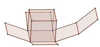 [i]ACTIVIDAD 7: POLIEDROS[/i]  [justify]1. Represente un cubo y realice su desarrollo. ¿Cuál es la medida de su arista, la medida del área de su superficie y la medida de su volumen? [/justify]
