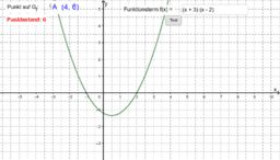 Parabelgleichung in faktorisierter Form