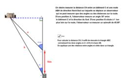 Trigonometrie application