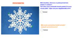 Pistesymmetrinen lumihiutale, tehtävä 9.2