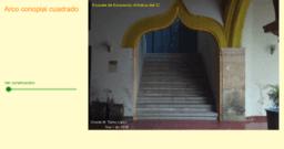Arco conopial cuadrado