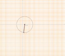 Tangente a la circunferencia en un punto dado